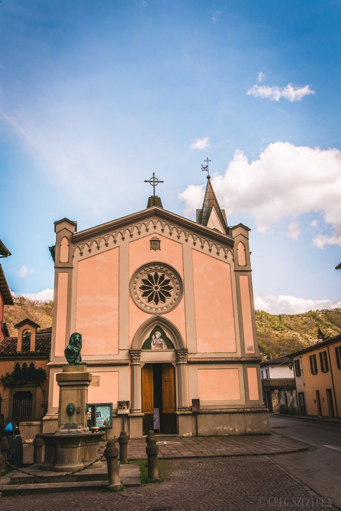 Basilica San Pietro in Bosco ( Galeata ) - Saint Peter in Wood Basilica ( Galeata )